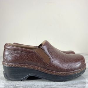 Klogs Brown Leather Clogs